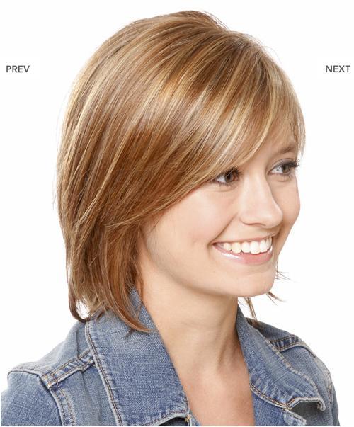 pixie lott hot photos: casual medium straight hairstyle