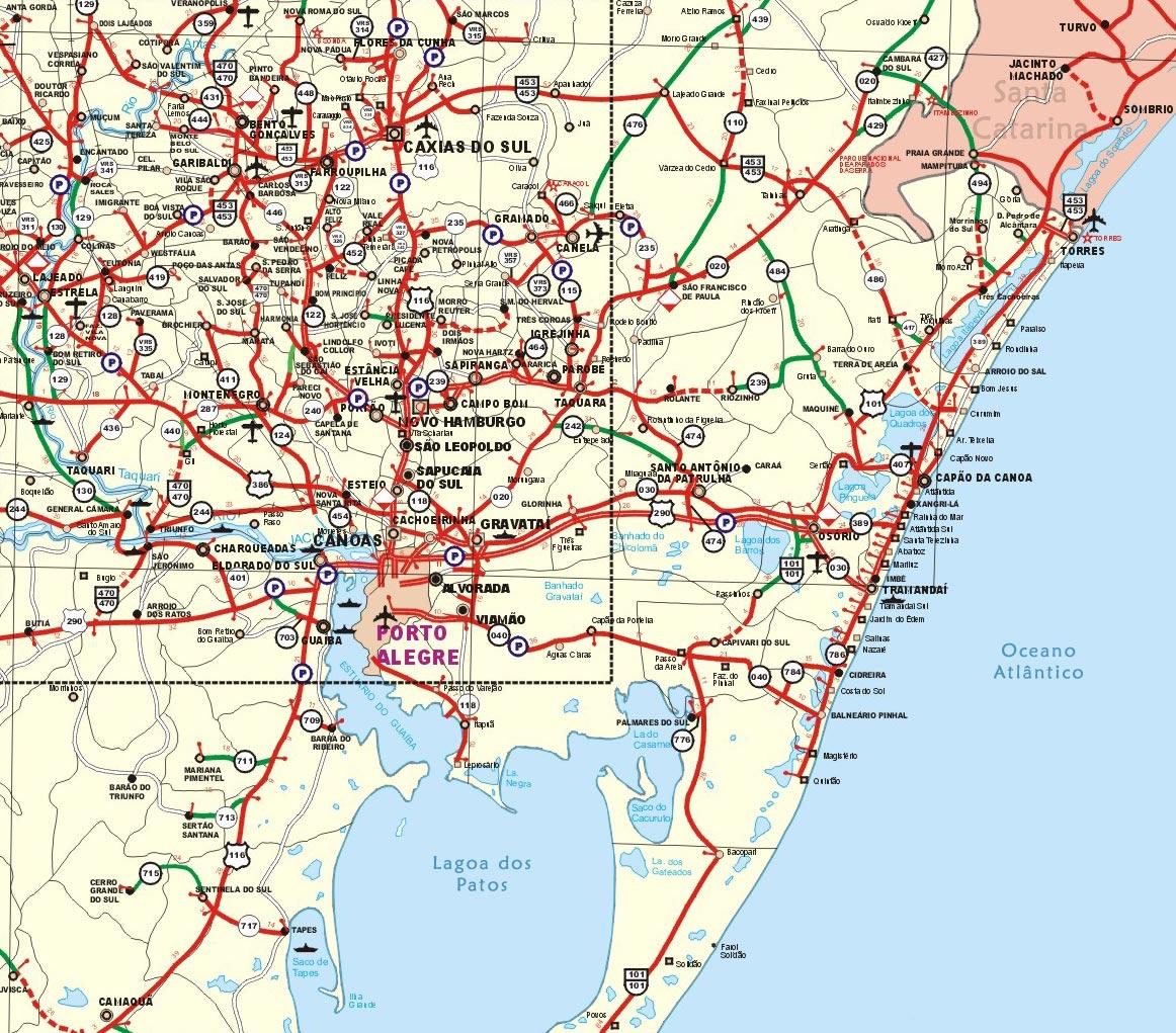 Mapa Do Rs