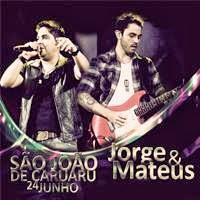 CD - Jorge e Mateus – Ao Vivo no São João de Caruaru-PE (2013)