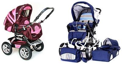 Примеры современных детских колясок