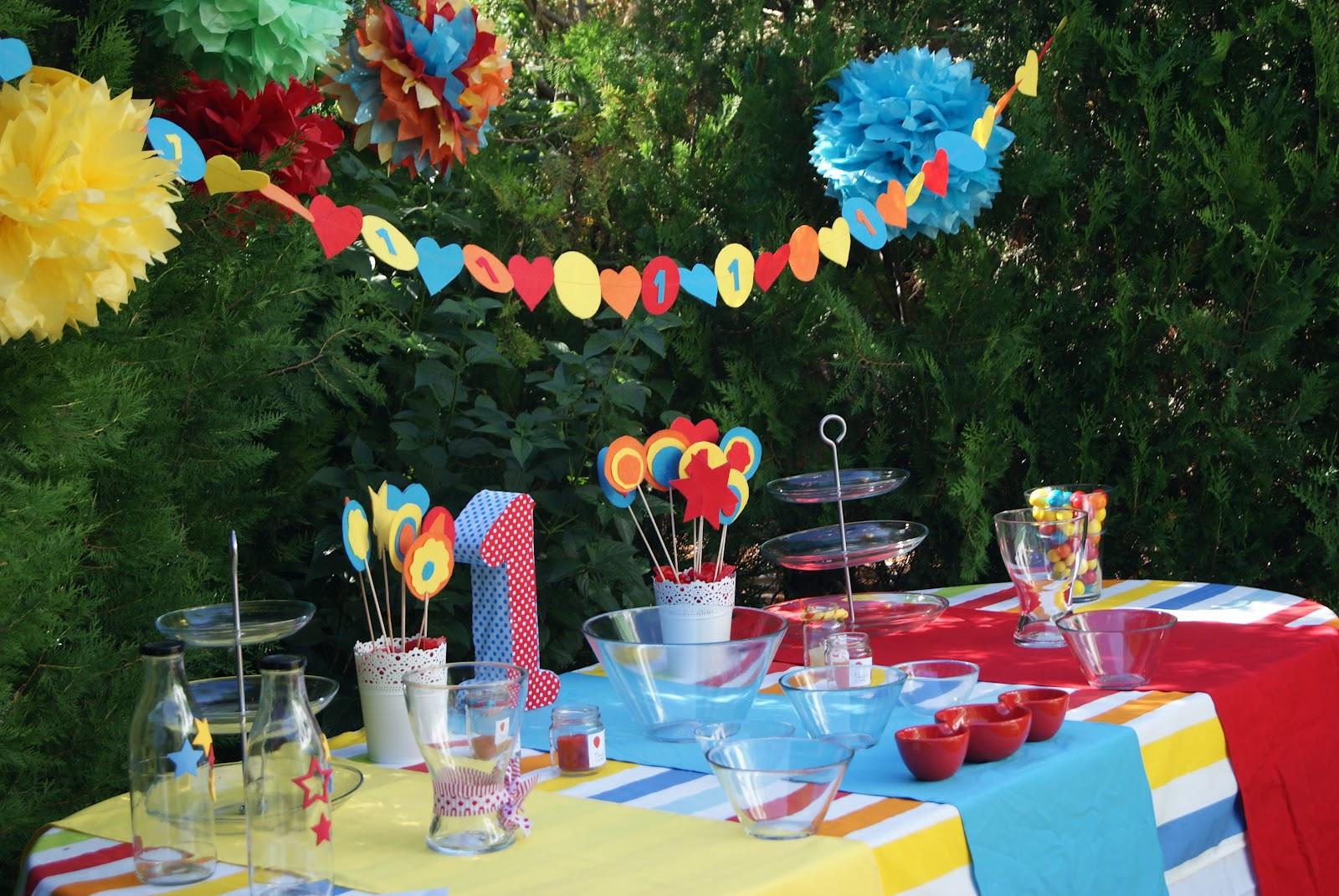 El ba l de loreto una alegre fiesta de primer cumplea os for Decoracion para jardin de ninos