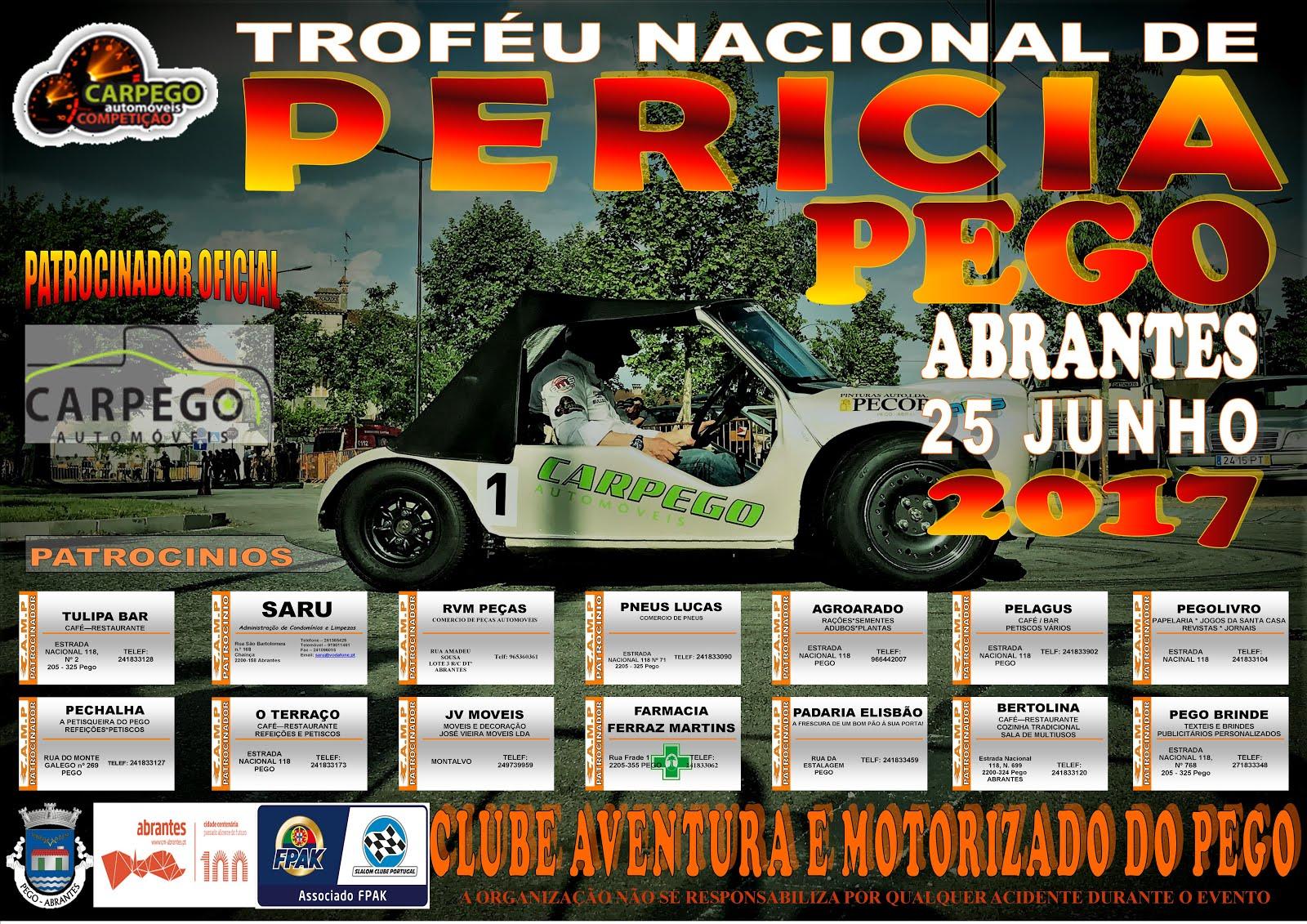 TROFÉU NACIONAL DE PERÍCIA 2017