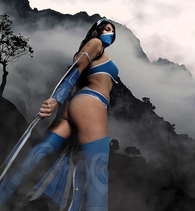 Mortal Kombat: Cosplay de Kitana