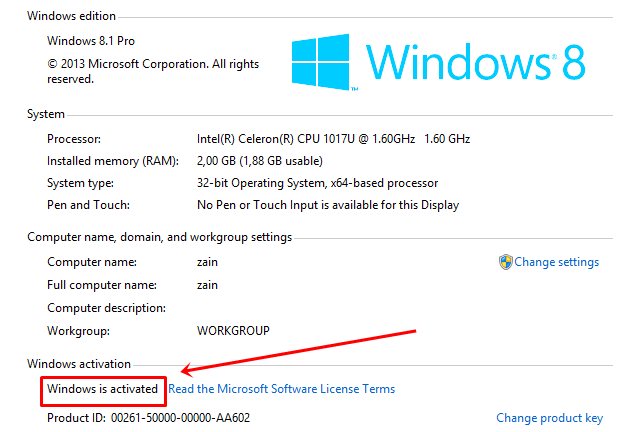 Cara Aktivasi Windows 8.1 Permanent Offline Terbaru ...