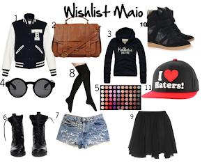 Wishlist Maio