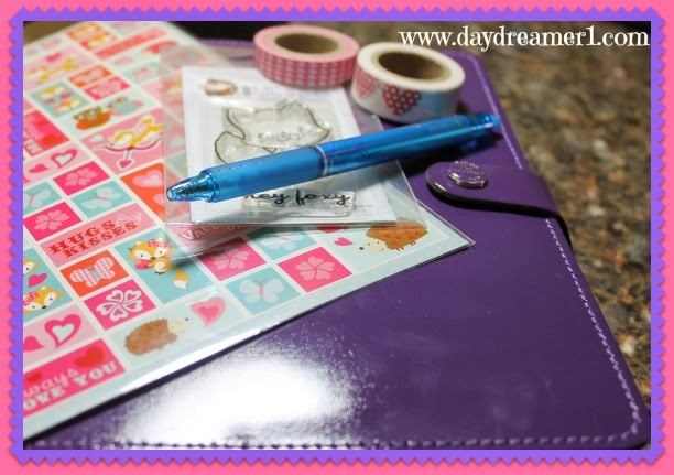 Filofax Decorating; Week 7-What Does The Fox Say?