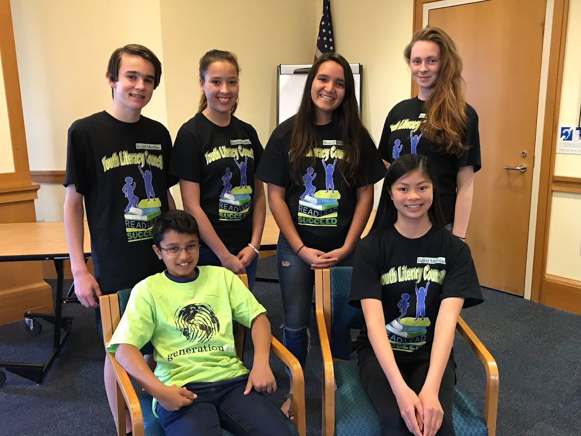 Teen Board of the Redwood City Youth Literacy Council