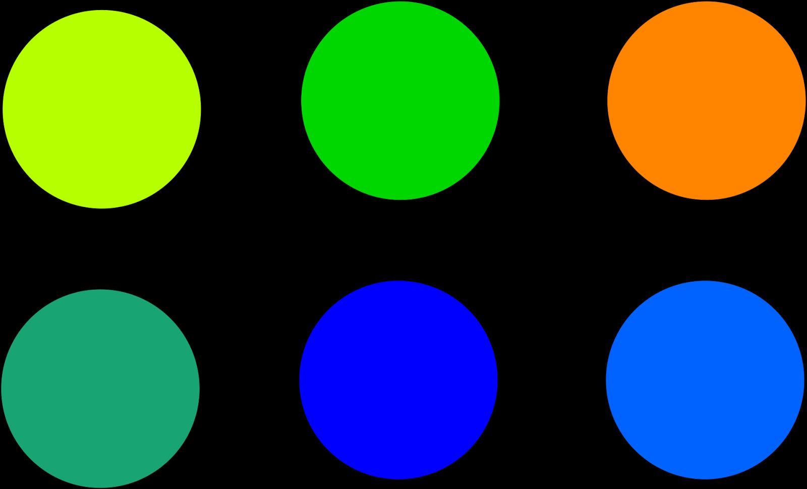 El color y los elementos de la expresion pl stica ii - Gama colores frios ...