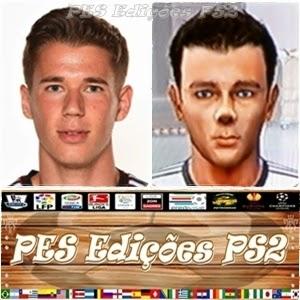 Erik Durm (Borussia Dortmund) e Alemanha PES PS2
