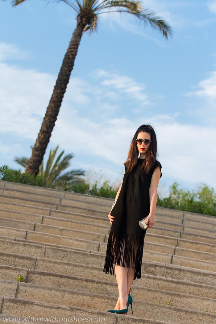 BLogger de Valencia de moda con zapatos Louboutin