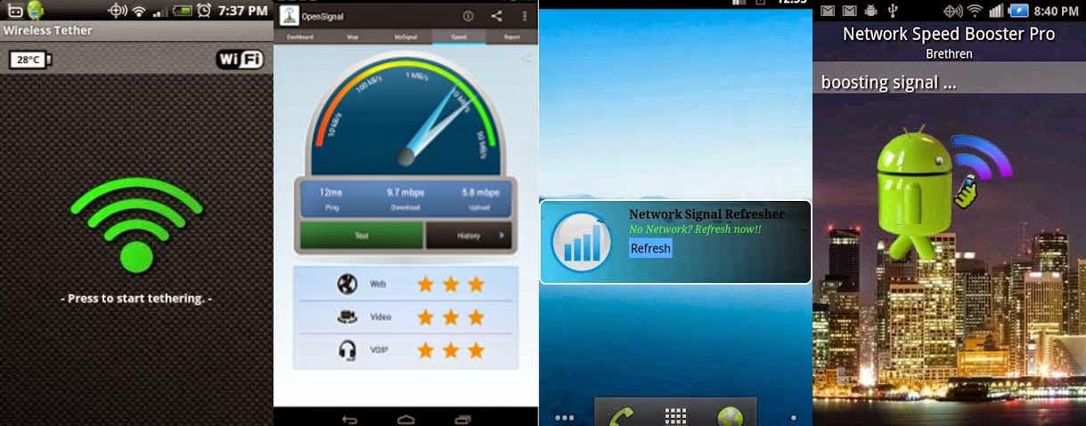 Top 4 Aplikasi Android Untuk Memperkuat Sinyal WiFi