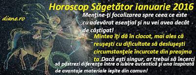 Horoscop Săgetător ianuarie 2016