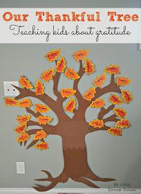 Thankful Tree: teaching kids about gratitude