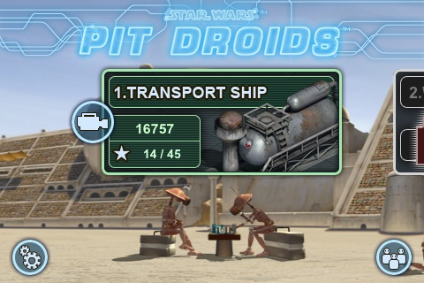 Star Wars Pit Droids Free App Game By LucasArts