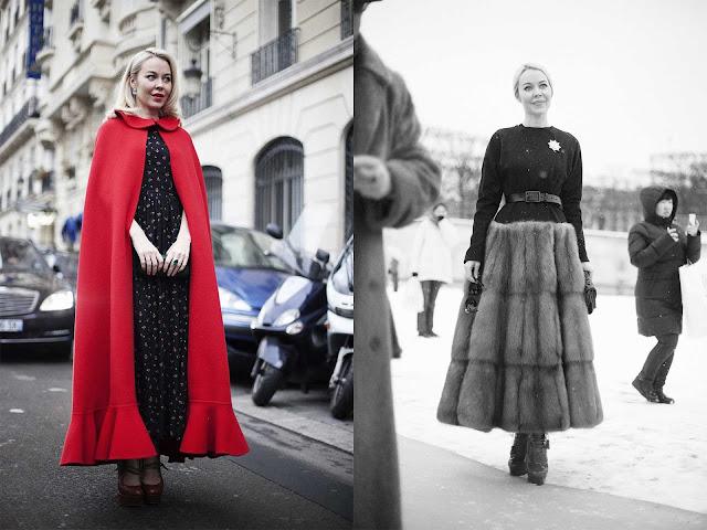 Ulyana Sergeenko Semana de la Alta Costura París 2013