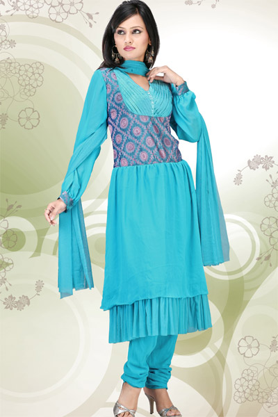 Lastest Pakistani Dresses 2013 For Girls Salwar Kameez Summer Collection