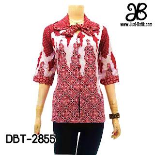 Blouse Batik Modern DBT-2855