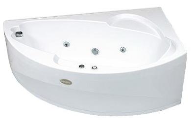 Красивая акриловая ванна, фото, гидромассажная, угловая