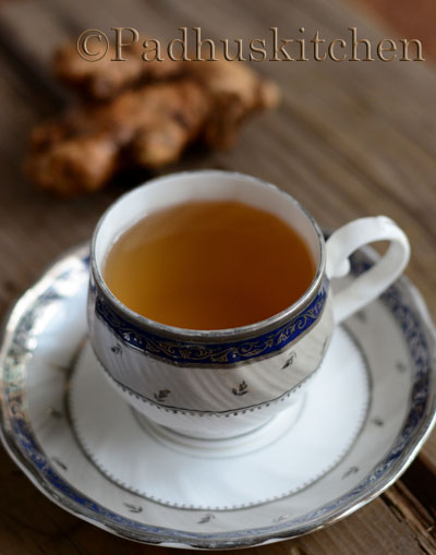 ginger tea-ginger tea for indigestion, cold and cough
