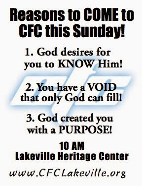 COME THIS SUNDAY!