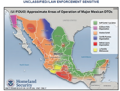 2009 2007 Primary Mexican Cartels