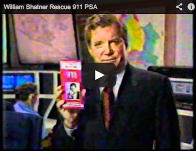 Rescue 911 commercial starring William Shatner