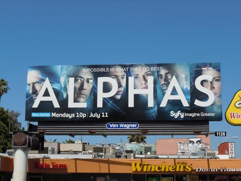 Alphas Syfy billboard