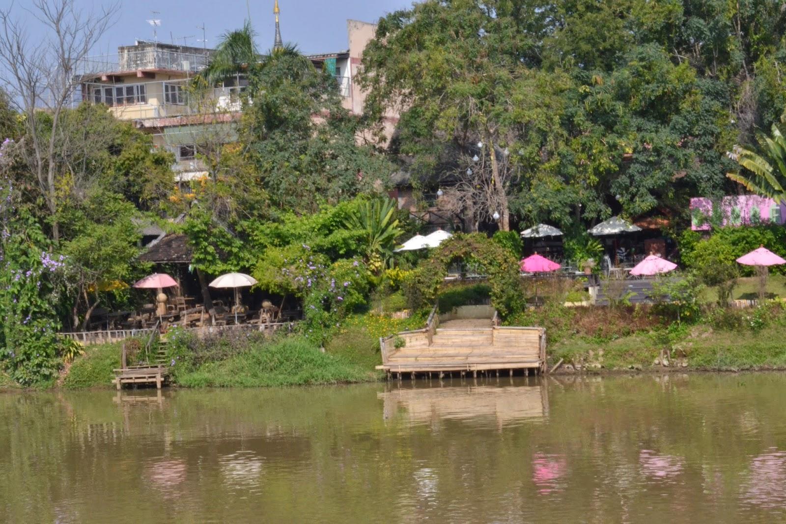 Chiang Mai, Thailande, voyage, fleuve