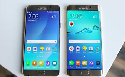 Samsung Cae tras el lanzamiento de Galaxy Note 5 y el S6 Edge Plus