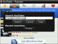 Cara Nonton Video Youtube Gratis di Blackberry