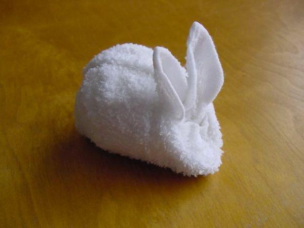 towel animal origami