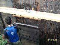 waterproofing membrane pada dinding