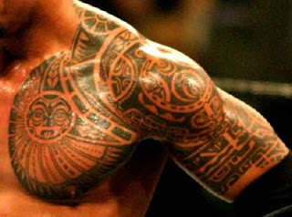 Modern Trend of African Tribal Tattoo Designs For Chest and Biceps of men