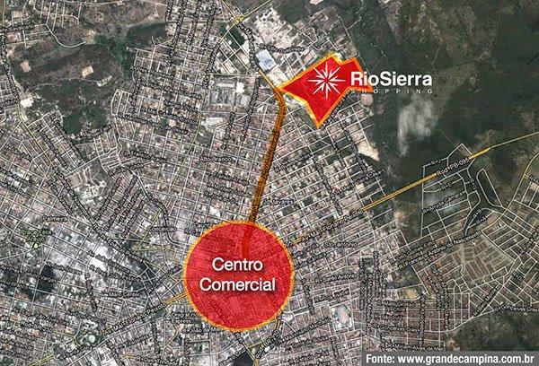 Shopping Rio Sierra em Campina Grande