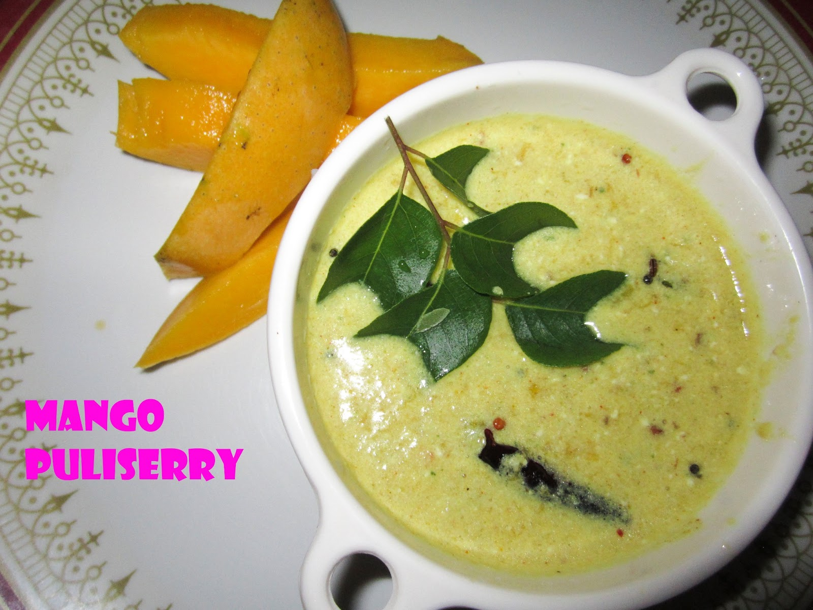 Mango Pulissery...