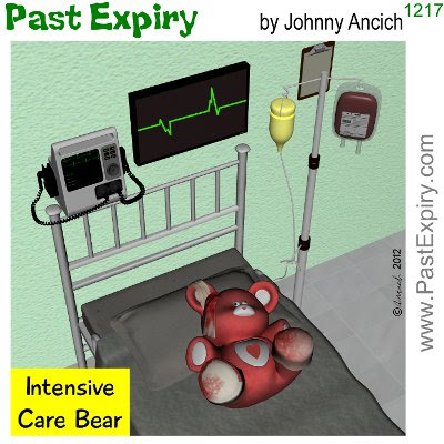Cartoon about animals, illness, health, spoof, toy, 