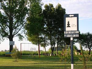 Área de recreación y descanso