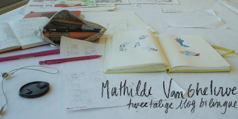 MVG - Mathilde Van Gheluwe - Blog bilingue - Illustratrice