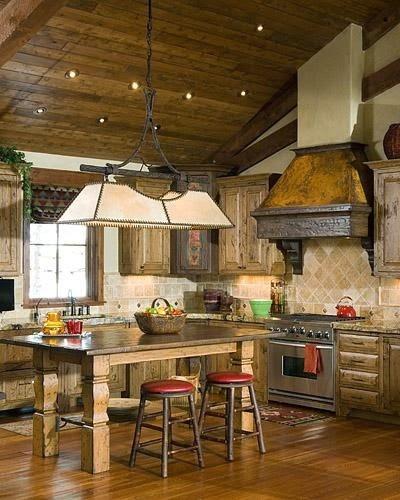 Decoración de Cocinas Rusticas : Cocina y Muebles