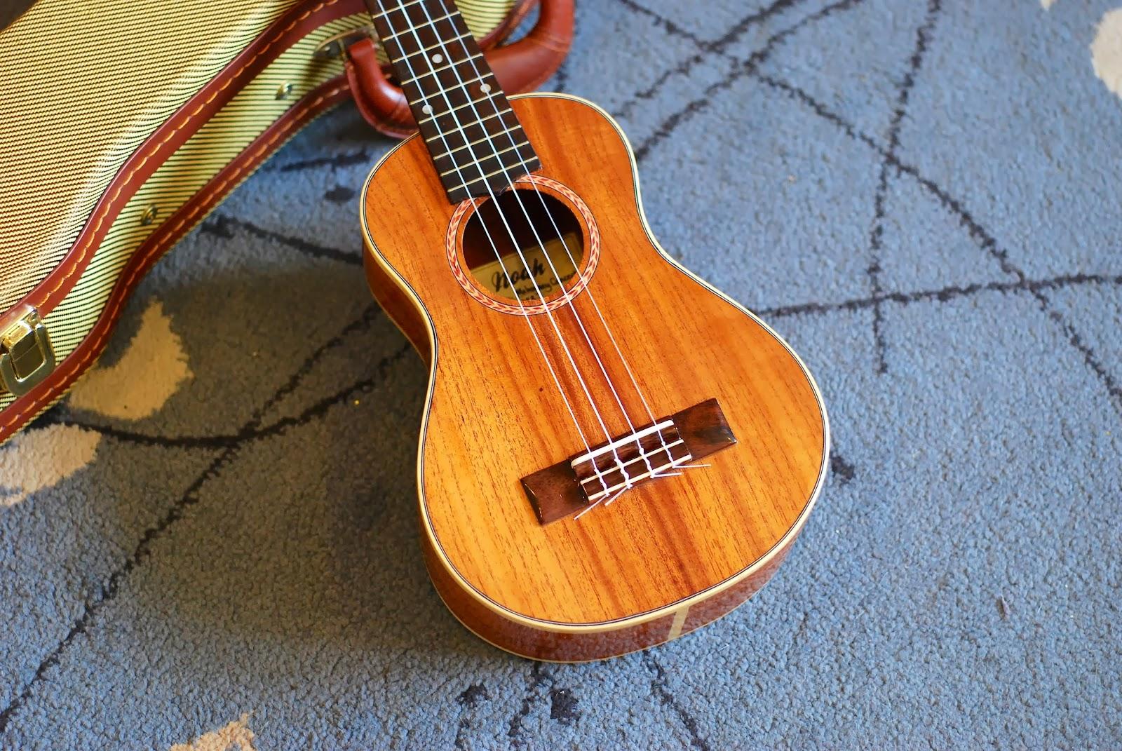 Noah mahogany concert ukulele body