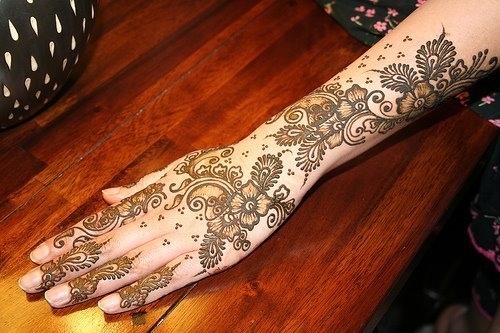 Mehndi Designs: Arabic Bridal Mehndi Designs