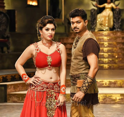 Hansika Motwani Hot in Puli Movie Photos