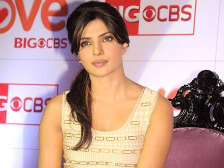 Priyanka Chopra at Love BIG CBS - Priyanka Chopra at 'Love BIG CBS' show launch