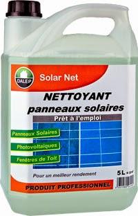 Avec quoi nettoyer des panneaux solaires
