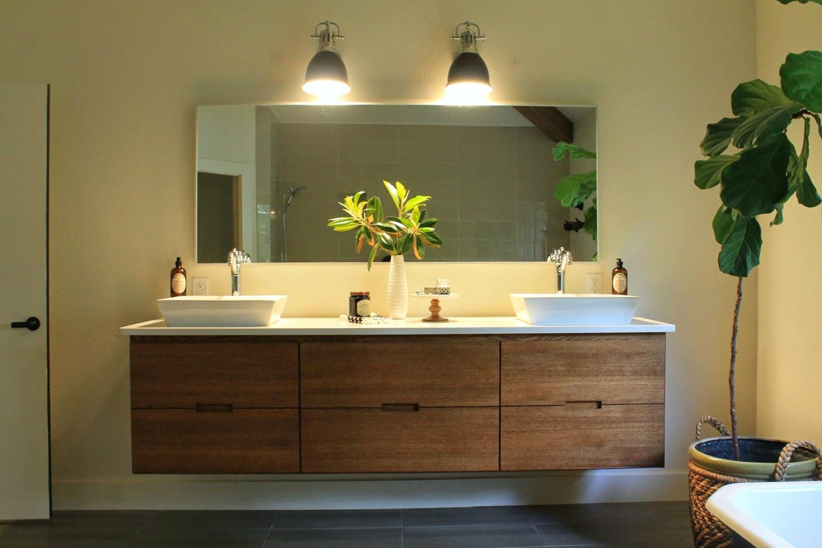 Ikea mirror bathroom