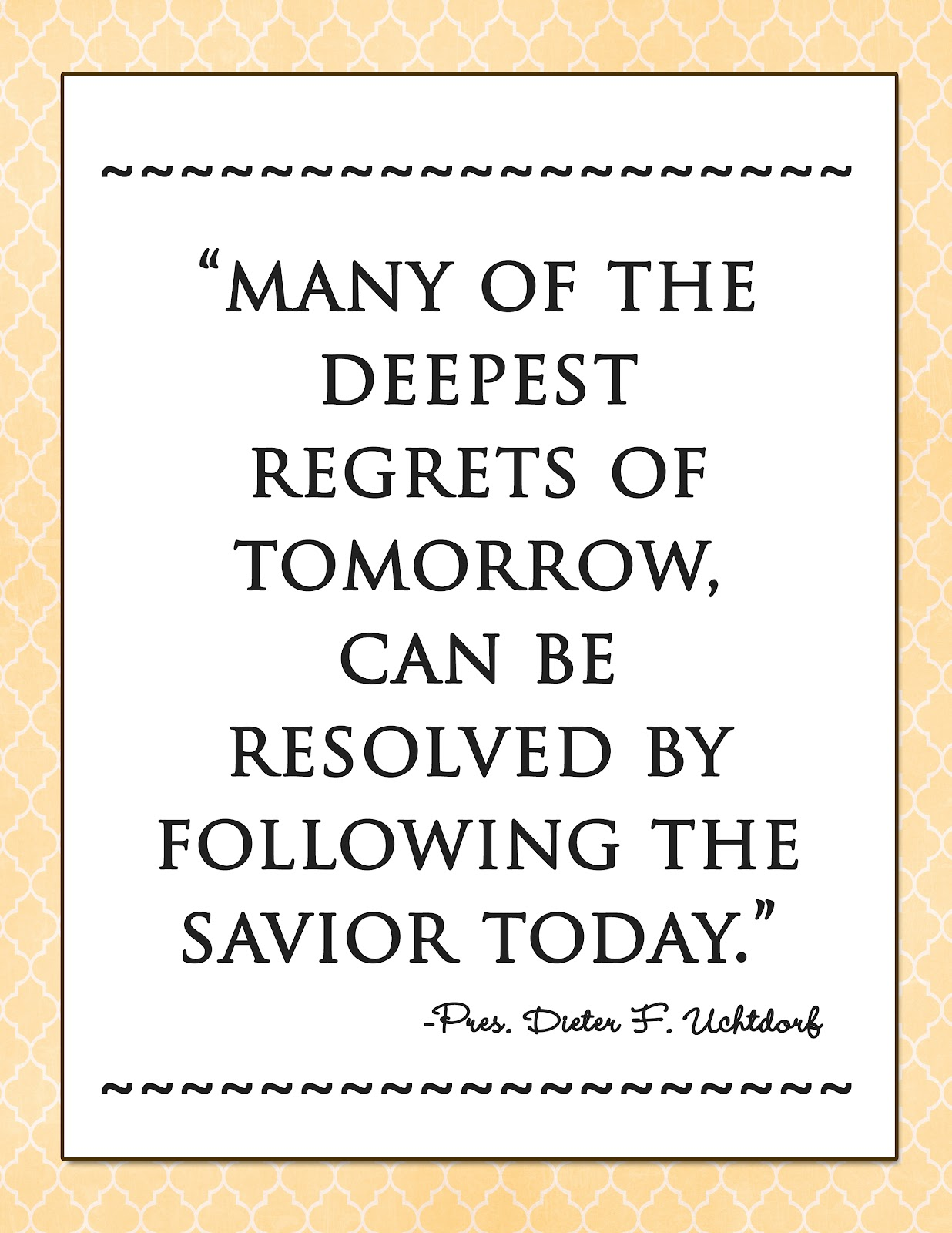 LDS New Year Quotes