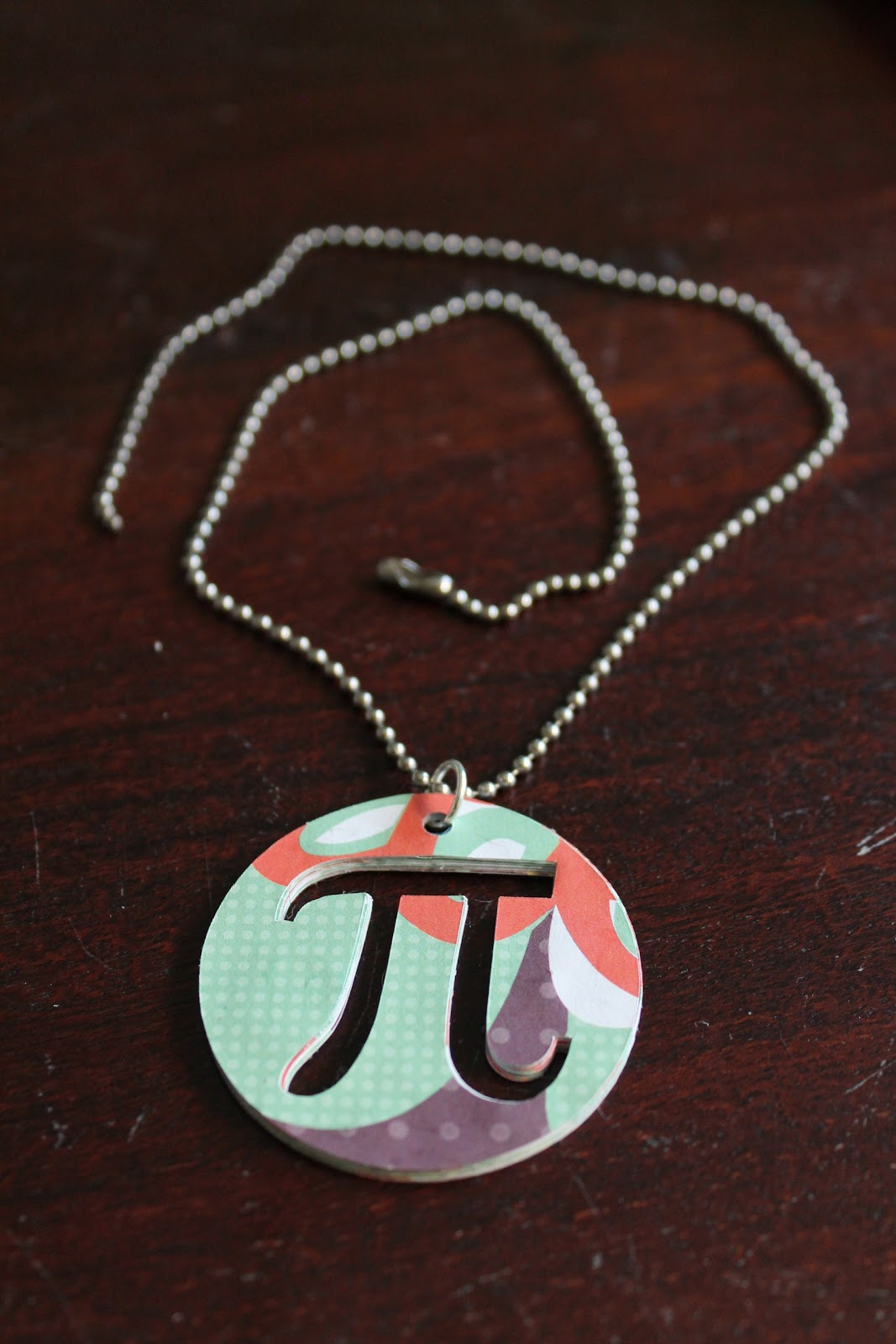 Ideas to live the diy life tutorial paper pendants before you say what the heck let me tell you two important things about me i am a math teacher beyond that fact pi day is my favorite day of the aloadofball Gallery