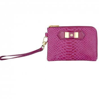 photo of fiorelli wristlet, leather from Treasure Box