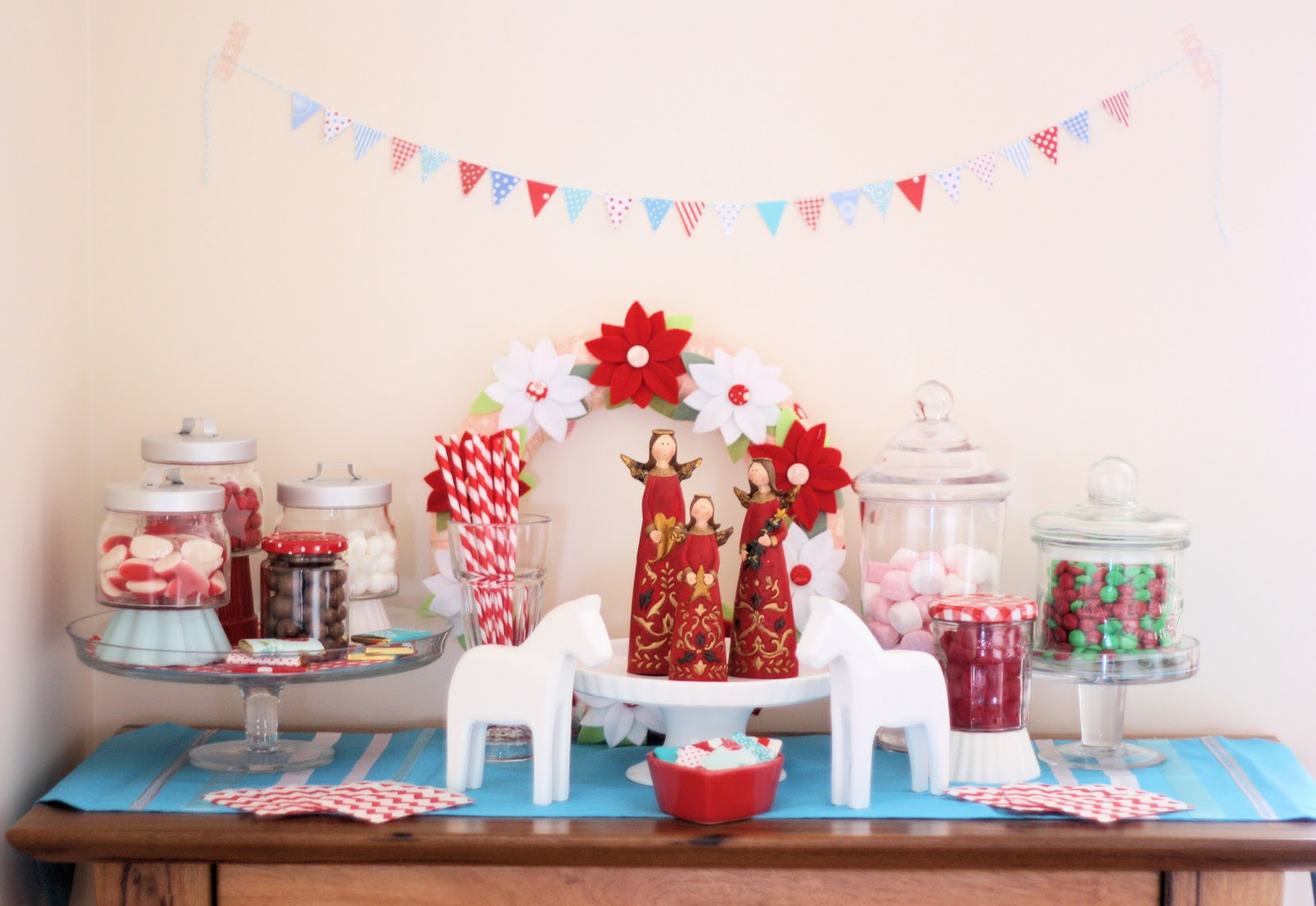 Christmas Candy Buffet - A Spoonful of Sugar