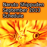 Naruto Shippuden September 2013 Schedule Kurama Mode